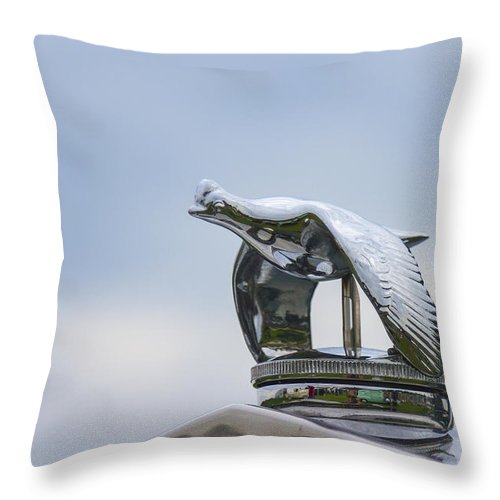 Glenmoor Throw Pillow featuring the photograph 1930 Ford Model A by Jack R Perry