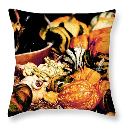 Fall Throw Pillow featuring the photograph Fall by Eddie Miller