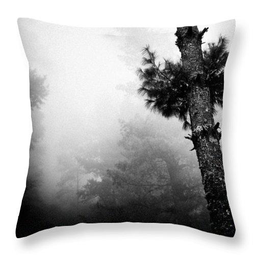 Gosaikunda Throw Pillow featuring the photograph Himalyas Mist by Raimond Klavins