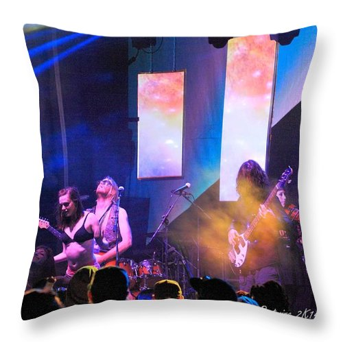 Manitoa Rw2k14 Throw Pillow featuring the photograph Manitoa Rw2k14 by PJQandFriends Photography