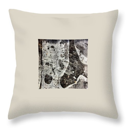 Beautiful Throw Pillow featuring the photograph Plastic by J Love