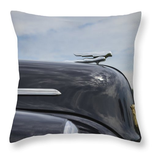 Glenmoor Throw Pillow featuring the photograph Nash by Jack R Perry