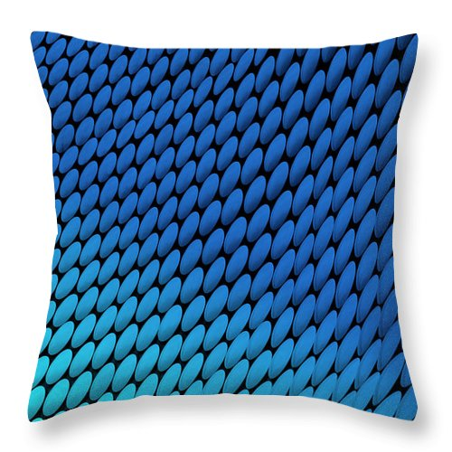 Birmingham Throw Pillow featuring the photograph Study Of Patterns And Colours by Roland Shainidze Photogaphy