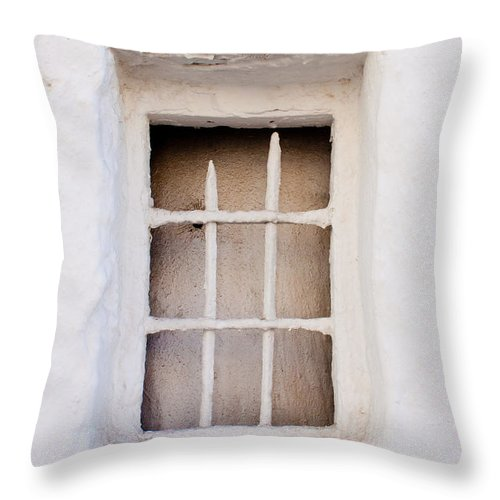 The Windows And Doors Of Andalucia Spain Throw Pillow For Sale By Thomas Marchessault