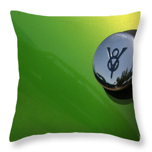1940 Throw Pillow featuring the photograph 40 Ford - Tank-8517 by Gary Gingrich Galleries