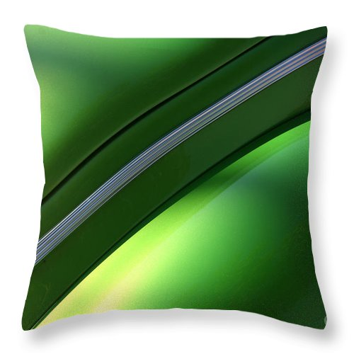1940 Throw Pillow featuring the photograph 40 Ford - Trim-8545 by Gary Gingrich Galleries