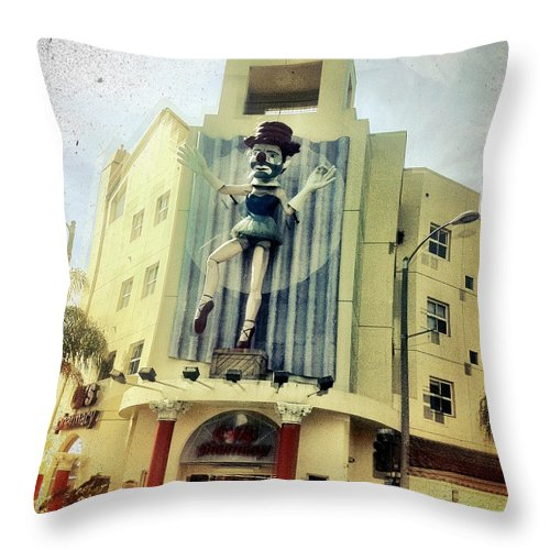 Venice Throw Pillow featuring the photograph Untitled by Barbara Ruano