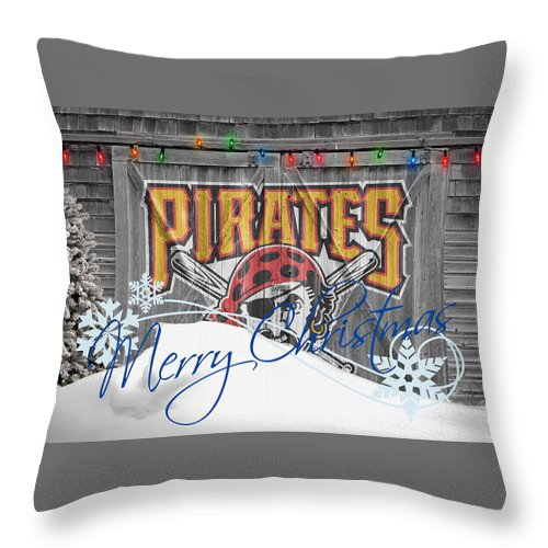 Pirates Throw Pillow featuring the photograph Pittsburgh Pirates by Joe Hamilton