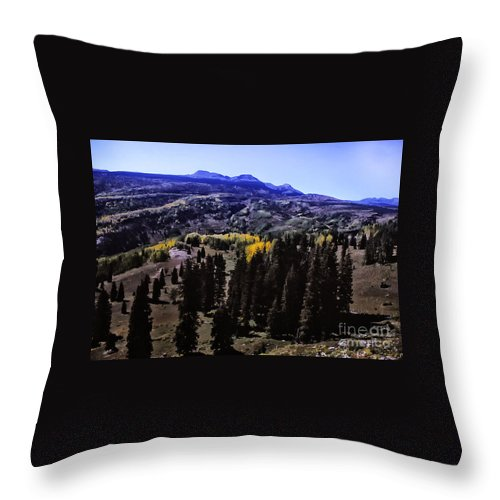 Print Throw Pillow featuring the photograph 662 Sl In A Purple Haze by Chris Berry
