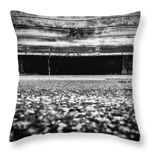 Abandoned Throw Pillow featuring the photograph Abandoned Sanatorium by Traven Milovich