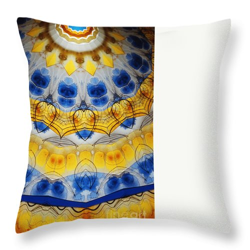 Prism Throw Pillow featuring the photograph Kaleidoscope by Bill Longcore