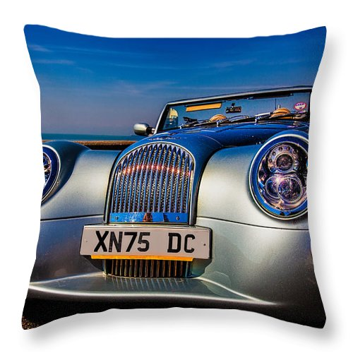 Morgan Throw Pillow featuring the photograph A Morgan By The Sea by Chris Lord