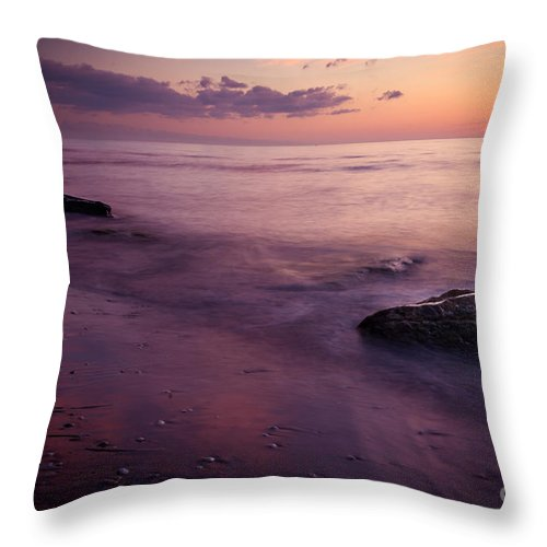 Friaul-julisch Venetien Throw Pillow featuring the photograph A Piece Of Paradise by Hannes Cmarits