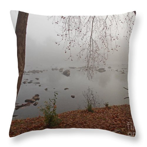 Scenic Tours Throw Pillow featuring the photograph A Place To Dream by Skip Willits