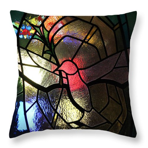 Spirit Throw Pillow featuring the photograph Abound In Hope by The Art Of Marilyn Ridoutt-Greene