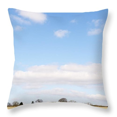 Wendy Throw Pillow featuring the photograph Above Us Only Sky by Wendy Wilton