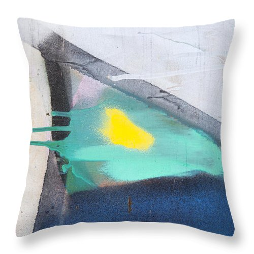 Abstract Throw Pillow featuring the photograph Absrtact by Mark Weaver