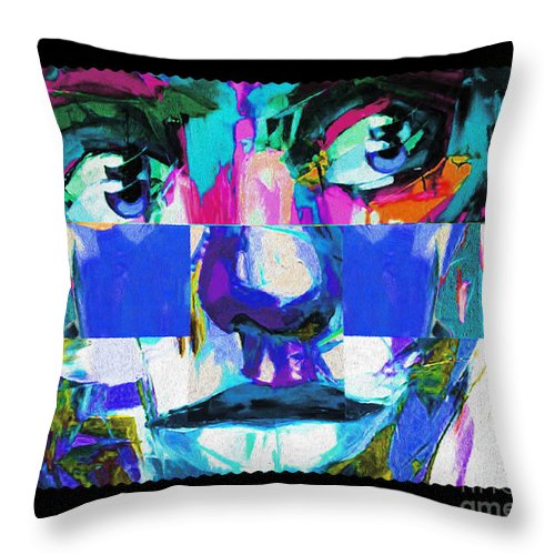 Throw Pillow featuring the photograph Abstract   by Nicholas Nixo