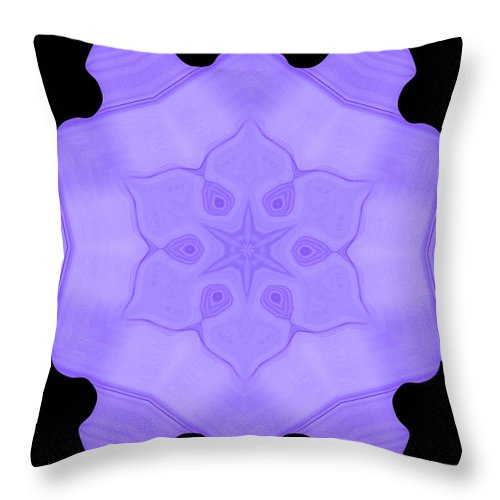 Original Throw Pillow featuring the painting Abstract 103 by J D Owen