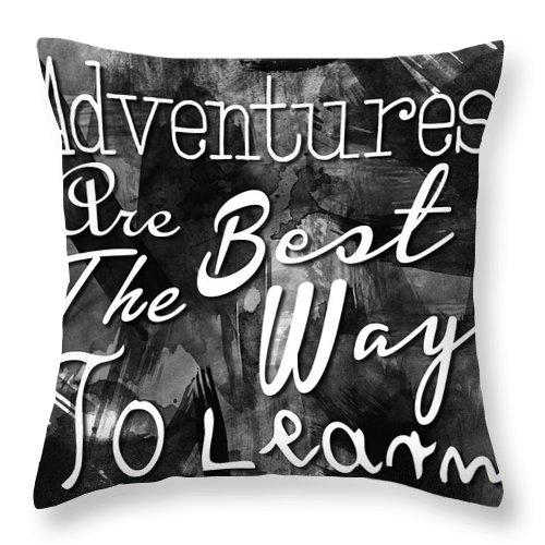 Adventure Throw Pillow featuring the photograph Adventures by Pati Photography