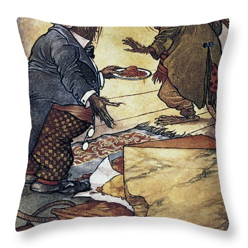 Aesop Throw Pillow featuring the photograph Aesop: Town And Country by Granger