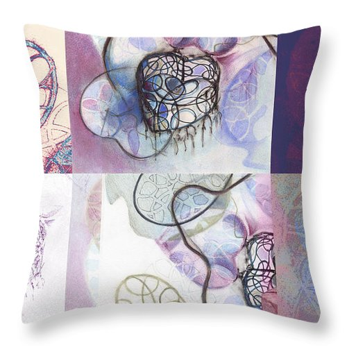 Hearts Throw Pillow featuring the photograph Affairs Of The Heart Medley by Kerryn Madsen-Pietsch
