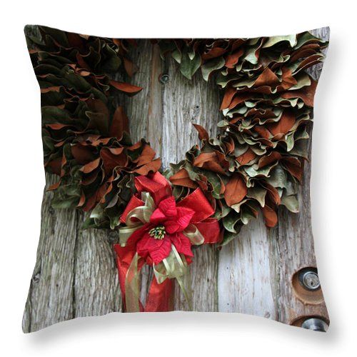 Holiday Throw Pillow featuring the photograph After Holiday by Munir Alawi