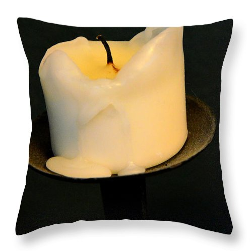 Newel Hunter Throw Pillow featuring the photograph Afterglow by Newel Hunter