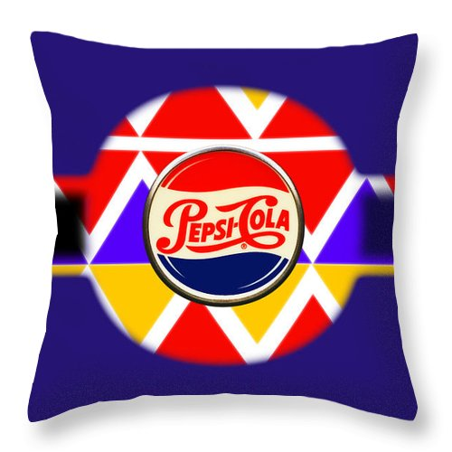 Usaaf Throw Pillow featuring the painting Air Force by Charles Stuart