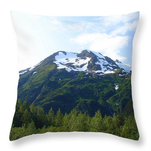 Alaska Throw Pillow featuring the photograph Alaska 18 by Lew Davis