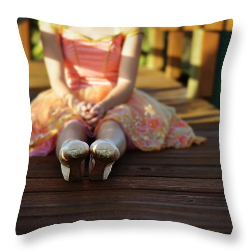 Laura Fasulo Throw Pillow featuring the photograph All's Well That Ends Well by Laura Fasulo