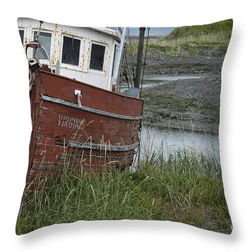 Boat Throw Pillow featuring the photograph Almost Virgins by David Arment