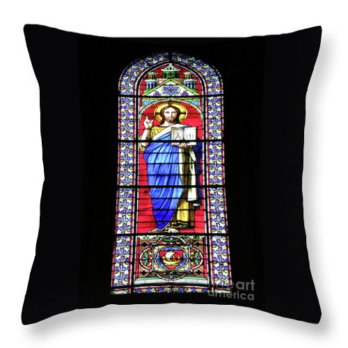 Paris Throw Pillow featuring the photograph Alpha And Omega by Ann Horn