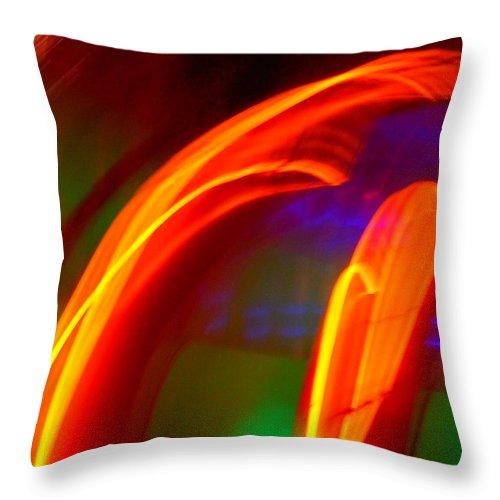 Dramatic Throw Pillow featuring the photograph Alternative Dimension by James Welch
