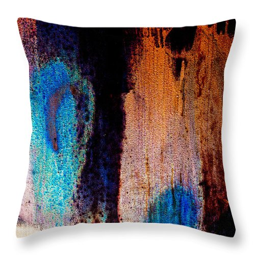 Abstract Throw Pillow featuring the photograph Ambiguous by Bob Orsillo
