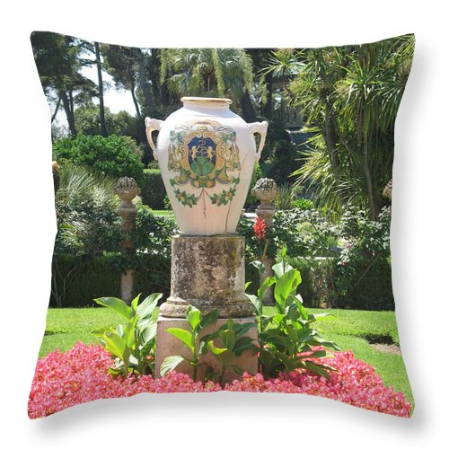 Amphora Throw Pillow featuring the photograph Amphora by Christiane Schulze Art And Photography