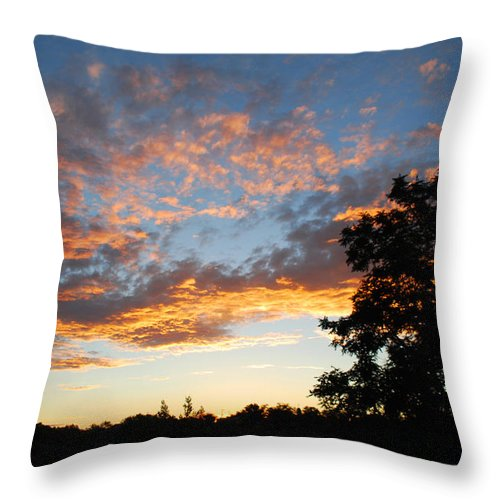 Becky Furgason Throw Pillow featuring the photograph #andscene by Becky Furgason