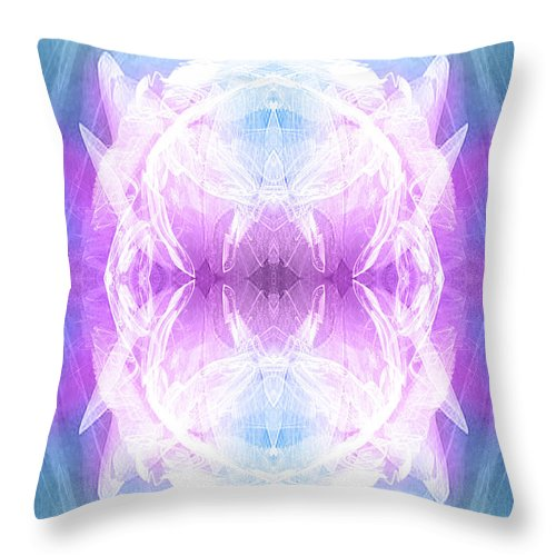 Angel Throw Pillow featuring the digital art Angel Of Dreams by Diana Haronis