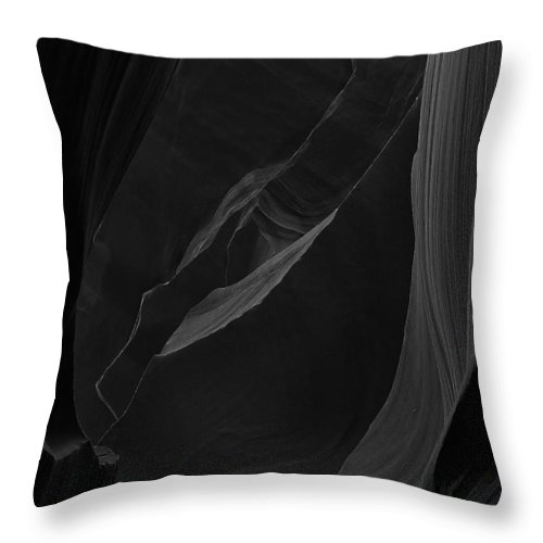 Antelope Throw Pillow featuring the photograph Antelope Canyon 005 by Ingrid Smith-Johnsen