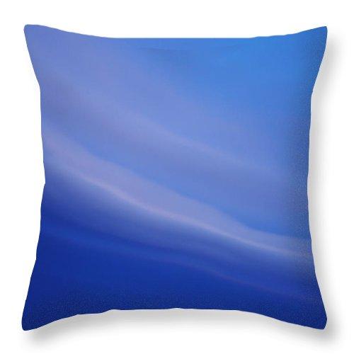 April Throw Pillow featuring the photograph April Clouds At Sunset by Lisa Holland-Gillem