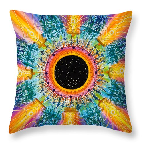 Stars Throw Pillow featuring the painting Apus Iris Constellation by Presa Hall