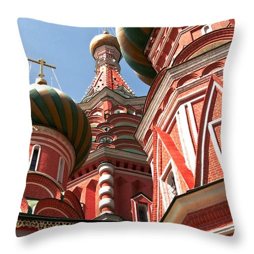 Architecture Throw Pillow featuring the photograph Architecture Abstract by Svetlana Sewell