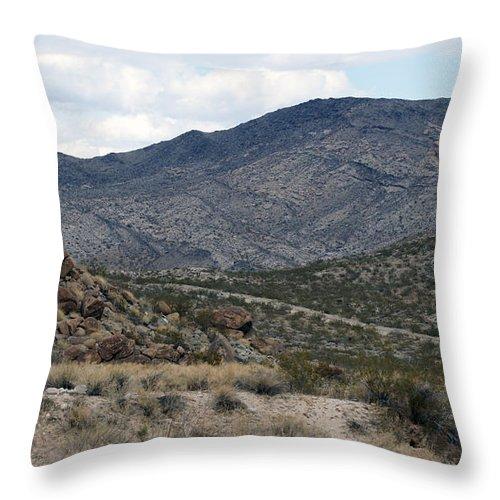 Arizona Throw Pillow featuring the photograph Arizona Mountains by Crystal Harman