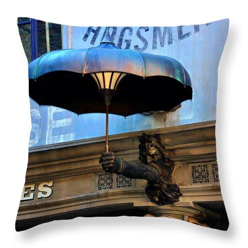 Umbrella Throw Pillow featuring the photograph Armbrella by David Lee Thompson