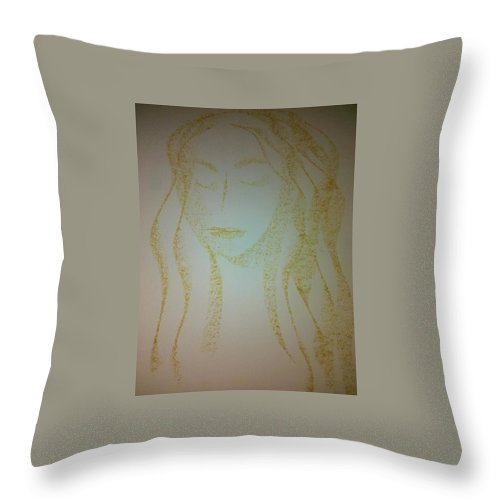 Woman Throw Pillow featuring the photograph Art Therapy 40 by Michele Monk
