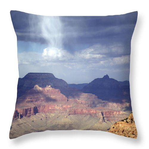 Grand Canyon Throw Pillow featuring the photograph Ascension by Sandy Molinaro