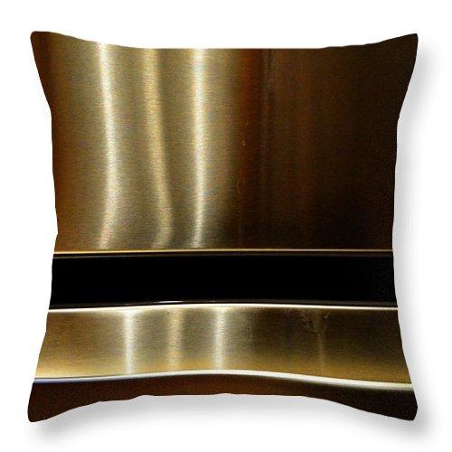 Newel Hunter Throw Pillow featuring the photograph Asymmetry 1 by Newel Hunter
