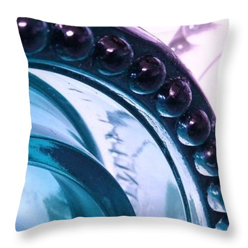 Insulator Throw Pillow featuring the photograph At The Edge by J L Zarek
