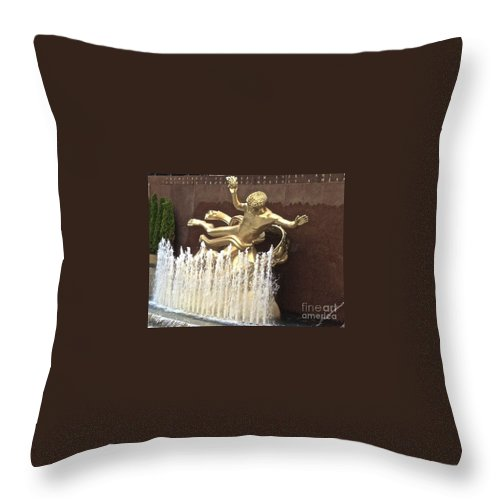 Atlas Throw Pillow featuring the photograph Atlas by Christy Gendalia
