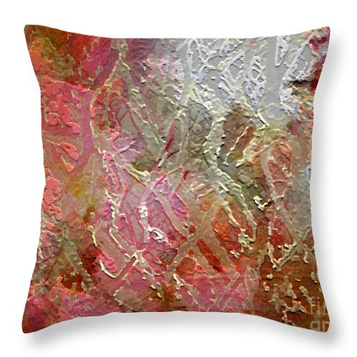 Autumn Throw Pillow featuring the photograph Autumn Hues by Dee Flouton